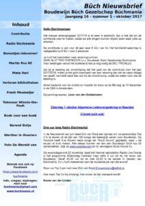 thumbnail of Nieuwsbrief 1 – oktober 2017